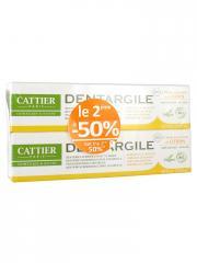 Cattier Dentargile Dentifrice Gencives Irritées Bio Lot de 2 x 75 ml - Lot 2 x 75 ml