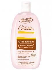 Rogé Cavaillès Crème de Douche Beurre d'Amande et Rose 750 ml - Flacon 500 ml + 250 ml offert