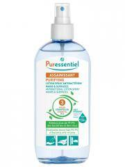 Puressentiel Assainissant Lotion Spray Antibactérien Mains & Surfaces aux 3 Huiles Essentielles 250 ml - Flacon-Vaporisateur 250 ml