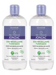 Eau de Jonzac Pure Eau Micellaire Purifiante Bio Lot de 2 x 500 ml - Lot 2 x 500 ml