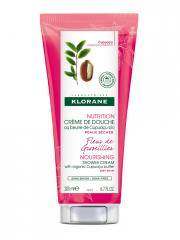 Klorane Nutrition Crème de Douche au Beurre de Cupuaçu Bio Fleur de Groseillier 200 ml - Tube 200 ml