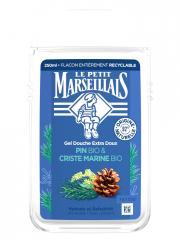 Le Petit Marseillais Gel Douche Extra Doux Pin Bio & Criste Marine 250 ml - Flacon 250 ml