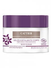 Cattier Gelée Exfoliante Corps Bio 200 ml - Pot 200 ml