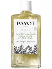Payot Herbier Huile Démaquillante Visage et Yeux à l'Huile d'Olive Bio 95 ml - Flacon 95 ml