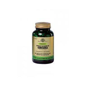 Solgar Curcuma 60 Gélules Végétales - Flacon 60 gélules - Publicité
