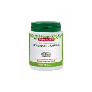 Super Diet Picolinate de Chrome 150 Gélules - Boîte 150 Gélules - Publicité