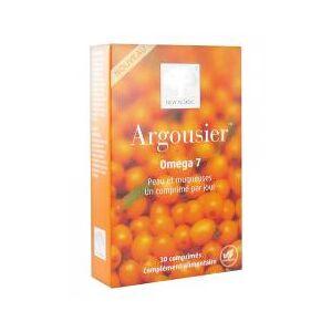New Nordic Argousier Omega 7 Peau et Muqueuses 30 Comprimés - Boîte 30 Comprimés - Publicité