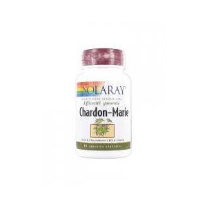 Solaray Chardon-Marie 60 Capsules Végétales - Boîte plastique 60 capsules - Publicité