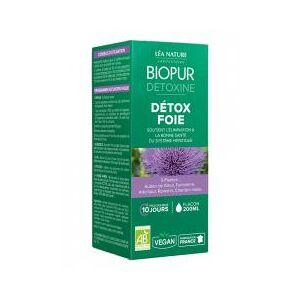 Biopur Detoxine Détox Foie 200 ml - Flacon 200 ml - Publicité