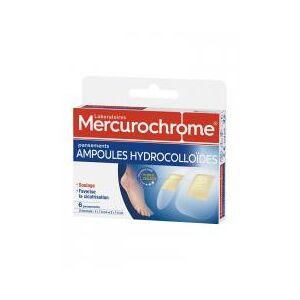 Mercurochrome Ampoules Hydrocolloïdes 6 Pansements - Boîte 6 pansements - Publicité