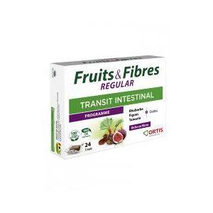 Ortis Fruits & Fibres Regular 24 Cubes - Boîte 24 cubes