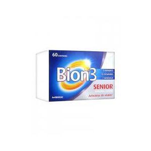 Bion 3 Senior 60 Comprimés - Boîte 60 comprimés - Publicité