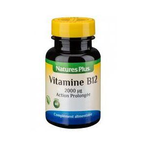 Natures Plus Vitamine B12 Action Prolongée 60 Comprimés - Flacon 60 comprimés - Publicité