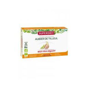 Super Diet Aubier de Tilleul Bio 20 Ampoules - Boîte 20 ampoules de 15 ml - Publicité