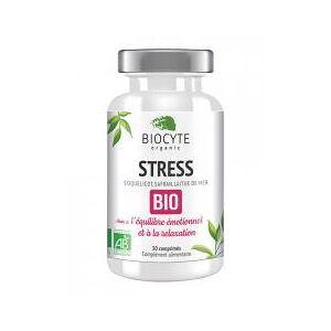 Biocyte Stress Bio 30 Comprimés - Pilulier 30 Comprimés - Publicité