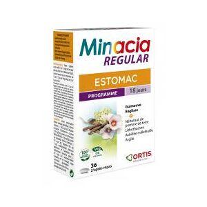 Ortis Minacia Regular Estomac 36 Comprimés - Boîte 36 Comprimés - Publicité