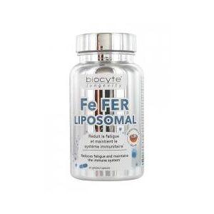 Biocyte Longevity Fe Fer Liposomal 30 Gélules - Boîte 30 gélules - Publicité