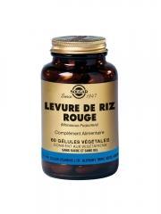 Solgar Levure de Riz Rouge 60 Gélules Végétales - Flacon 60 gélules