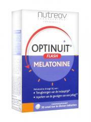 Nutreov Optinuit Flash Mélatonine 30 Comprimés - Boîte 30 comprimés