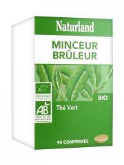 Naturland Thé Vert Bio 90 Comprimés - Boîte 90 comprimés