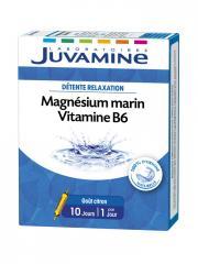 Juvamine Magnésium Marin Vitamine B6 10 Ampoules - Boîte 10 ampoules