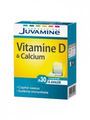 Juvamine Vitamine D et Calcium 30 Comprimés - Boîte 30 comprimés