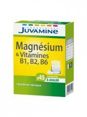 Juvamine Magnésium & Vitamines B6 B2 B1 45 Comprimés - Boîte 45 comprimés