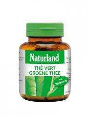 Naturland Thé Vert 75 Végécaps - Boîte plastique 75 végécaps