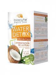 Biocyte Beauty Food Water Detox Eau de Coco 112 g - Boîte 7 doses de 16 g