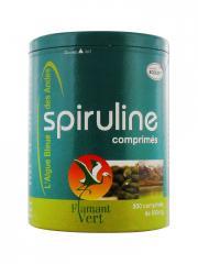 Flamant Vert Spiruline 300 Comprimés de 500 mg - Pot 300 comprimés