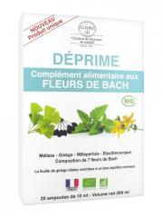 Elixirs & Co Complément Alimentaire aux Fleurs de Bach Déprime Bio 20 Ampoules - Boîte 20 ampoules de 10 ml