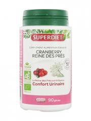 Super Diet Cranberry et Reine des Prés Bio 90 Gélules - Boîte plastique 90 gélules