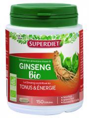 Super Diet Ginseng Panax CA Meyer Bio 150 Gélules - Boîte 150 gélules