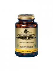 Solgar Ginseng Coréen 50 Gélules Végétales - Flacon 50 gélules