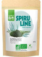Esprit Bio Spiruline Poudre à Saupoudrer Superaliment 200 g - Sachet 200 g