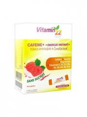 Ineldea Vitamin'22 Cafeine+ 14 Sticks - Boîte 14 sticks