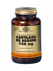 Solgar Cartilage de Requin 750 mg 90 Gélules Végétales - Flacon 90 gélules