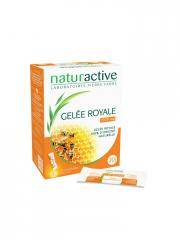Naturactive Gelée Royale 1500 mg 20 Sticks Fluides - Boîte 20 Sticks x 10 ml