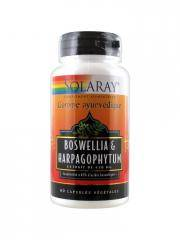 Solaray Boswellia & Harpagophytum 60 Capsules Végétales - Boîte 60 capsules