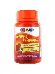 Pediakid Gommes Vitamine C 60 Gommes - Boîte 60 gommes