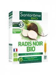 Santarome Bio Radis Noir Bio 20 Ampoules - Boîte 20 Ampoules de 10 ml