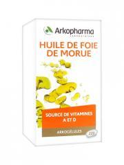 Arkopharma Arkogélules Huile de Foie de Morue 220 Gélules - Boîte 220 gélules