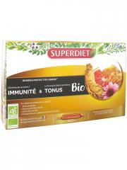 Super Diet Ginseng Protect Bio 20 Ampoules - Boîte 20 ampoules de 15 ml