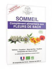 Elixirs & Co Complément Alimentaire aux Fleurs de Bach Sommeil Bio 20 Ampoules - Boîte 20 ampoules de 10 ml