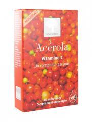 New Nordic Acérola Vitamine C 30 Comprimés - Boîte 30 Comprimés