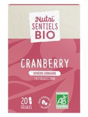 Nutrisanté Nutri'SENTIELS BIO Cranberry Sphère Urinaire 20 Gélules - Flacon 20 Gélules