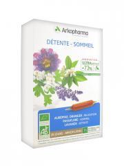 Arkopharma Arkofluides Détente Sommeil Bio 20 Ampoules - Boîte 20 Ampoules de 10 ml