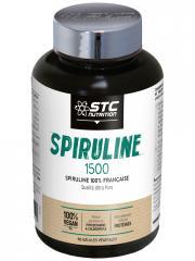 STC Nutrition Spiruline 1500 90 Gélules Végétales - Flacon 90 Gélules