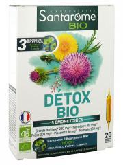 Santarome Bio Détox Bio 20 Ampoules - Boîte 20 ampoules