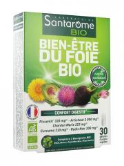 Santarome Bio Bien-Être du Foie Bio 30 Gélules - Boîte 30 Gélules